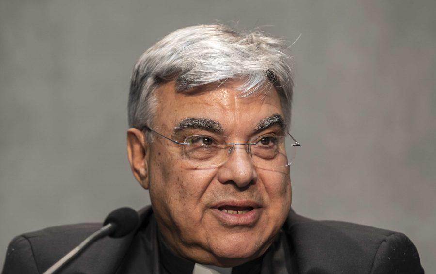 Vaticano, 27 giugno 2019  Monsignor Marcello Semeraro.