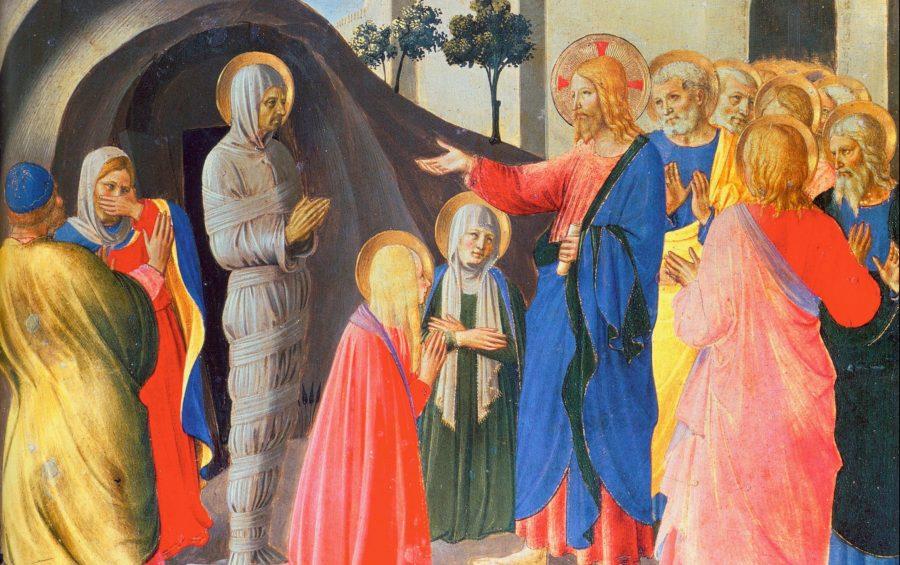 Museo di S. Marco - Firenze - Armadio degli Argenti - La Resurrezione di Lazzaro di Beato Angelico