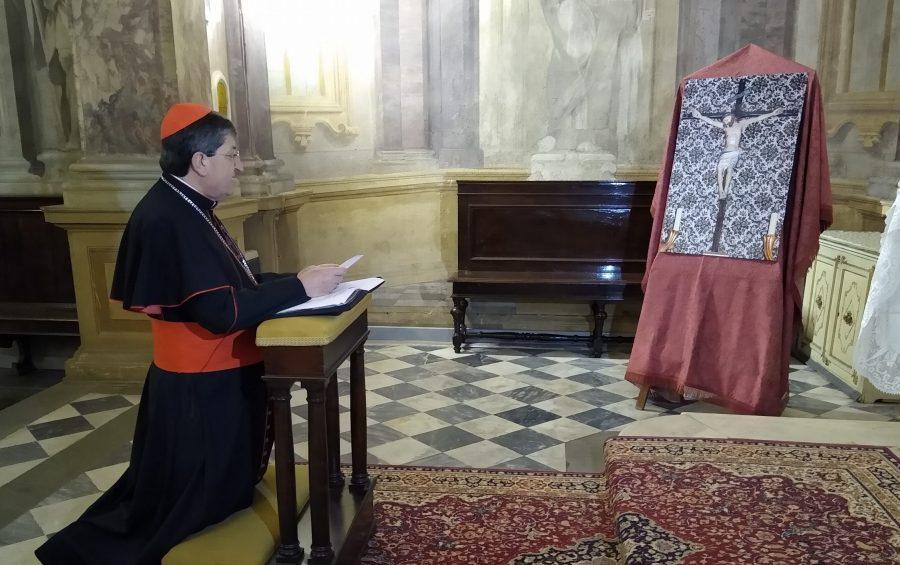 Atto di affidamento al Santissimo Crocifisso dei Miracoli