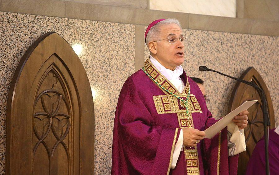 Latina 15 dicembre 2013. L'ingresso di Mons. Mariano Crociata in diocesi.