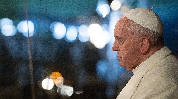 La preghiera del Papa per l'Italia