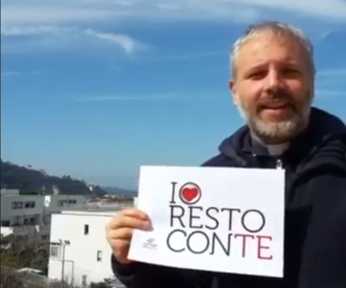 Sorrento. #IoRestoconTe, il messaggio dei sacerdoti