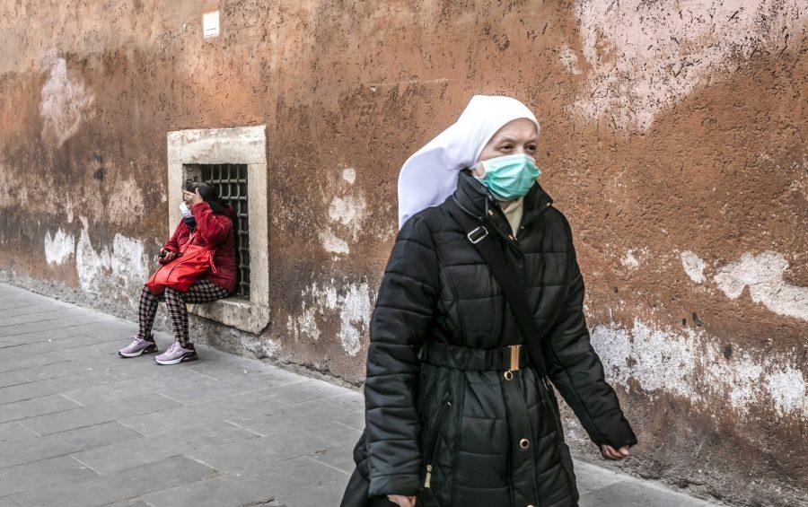 Roma, 05-03-2020. Gli effetti del Coronavisrus sulla citta' di Roma.