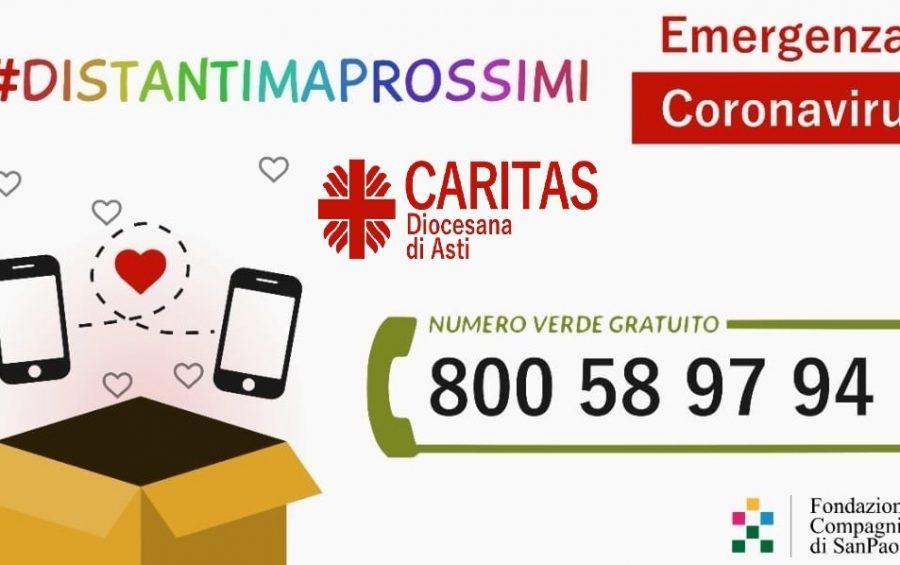#DistantiMaProssimi, un numero verde perché nessuno sia solo