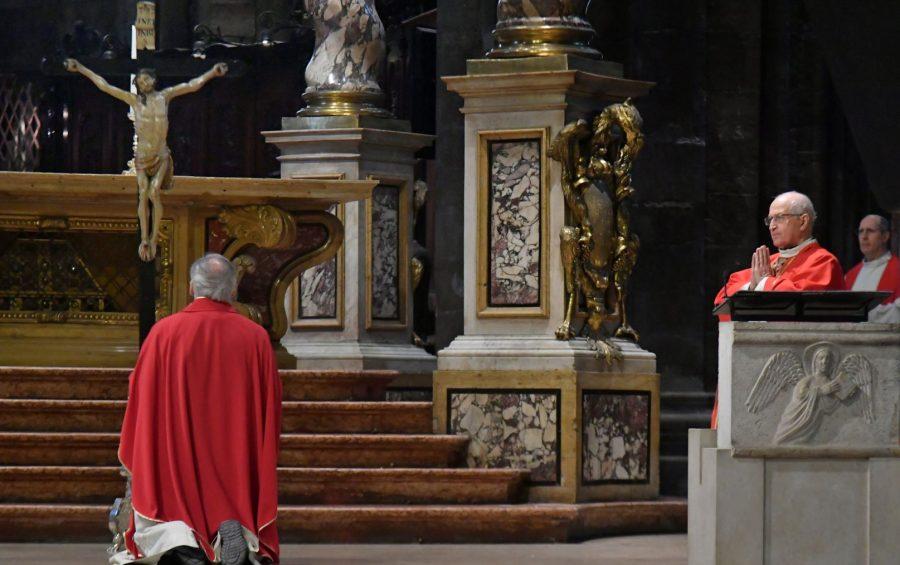 """Mons. Tisi: """"l'Uomo della croce tocca il cuore e manda in crisi"""""""