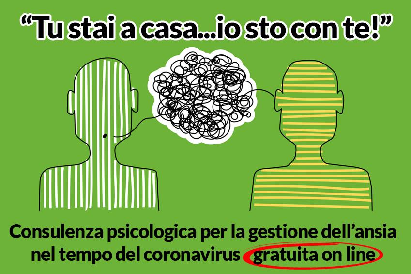 """""""Tu stai a casa… Io sto con te"""", il servizio di consulenza psicologica online dell'Università Salesiana"""