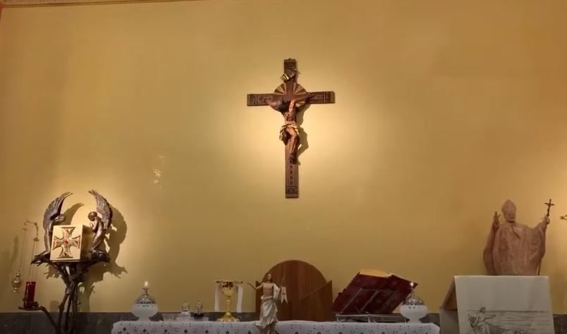 La messa di Pasqua