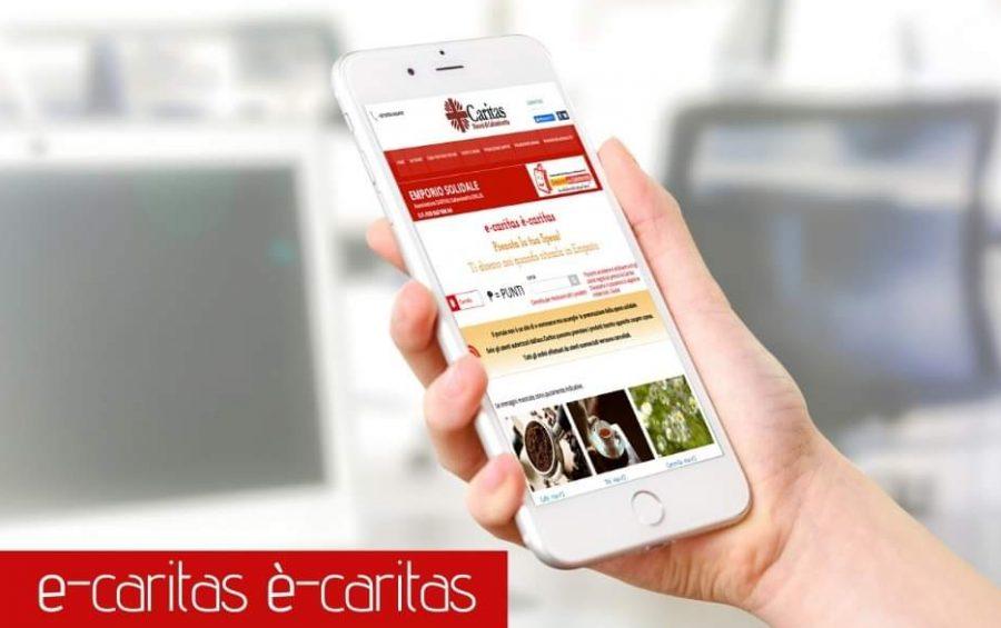 """Nascono e-Caritas, il portale per la spesa online, e il """"Contatore della Solidarietà"""""""