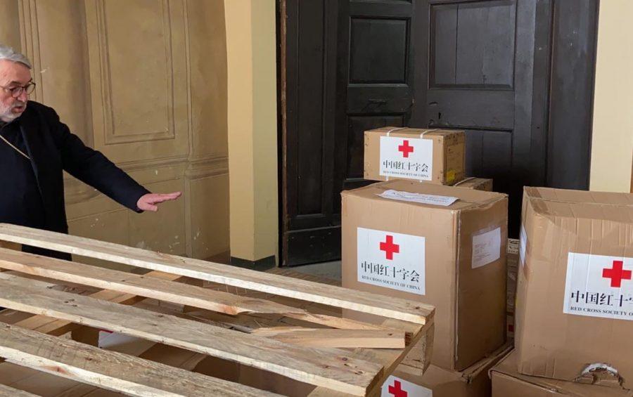 Il Papa dona materiale sanitario per le residenze protette per gli anziani