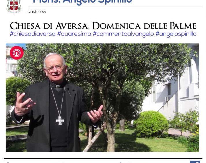 Domenica delle Palme: mons. Spinillo commenta il Vangelo