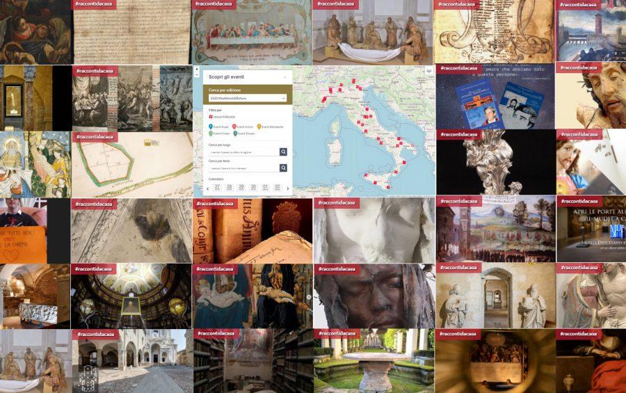 Online i #raccontidacasa dei beni culturali ecclesiastici