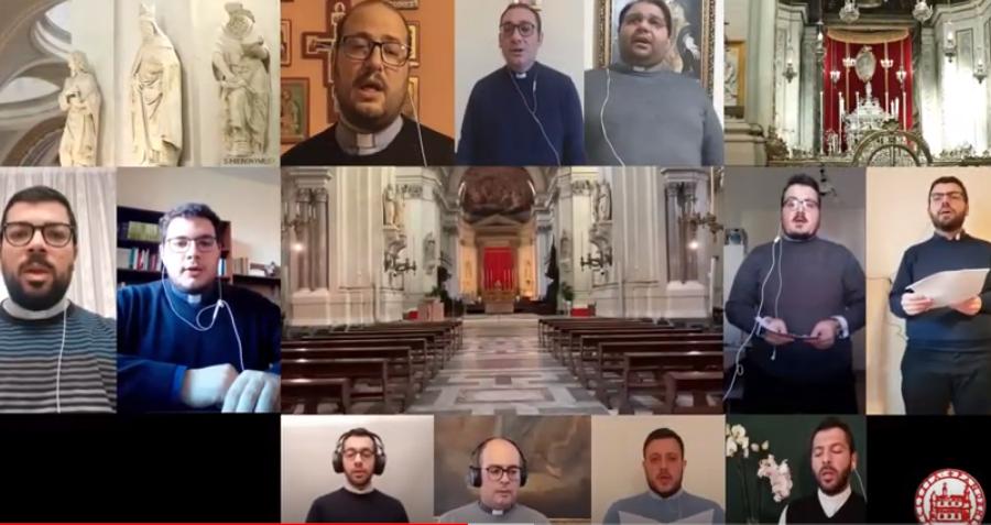 """""""O Redemptor"""": il canto dei giovani sacerdoti palermitani"""