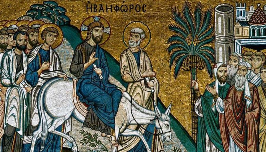 L'ingresso di Gesù a Gerusalemme: il racconto evangelico in CAA