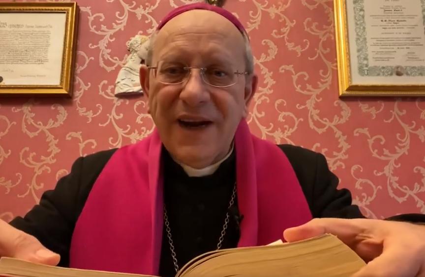 Mons. Russotto commenta il Vangelo di domenica 3 maggio