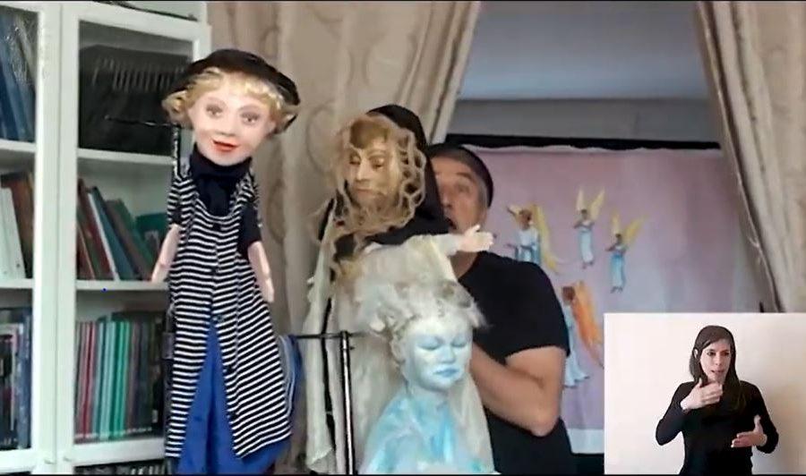 Domenica di Pasqua: Marco Tibaldi la racconta ai bambini con il teatro dei burattini