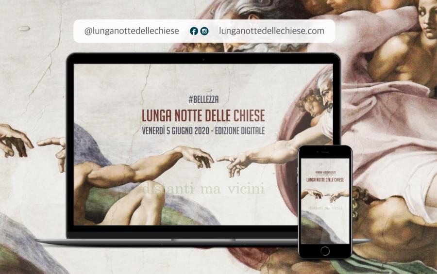 """Il 5 giugno la """"Lunga Notte delle Chiese"""" in modalità digitale"""