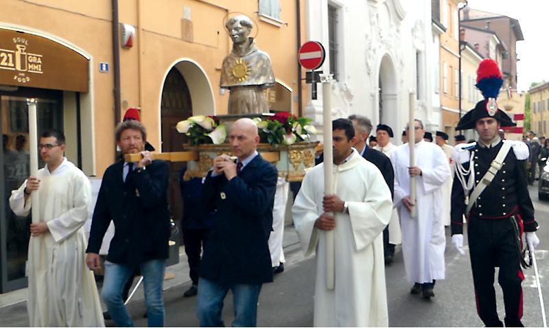 Il 20 maggio la Festa di San Bernardino da Siena