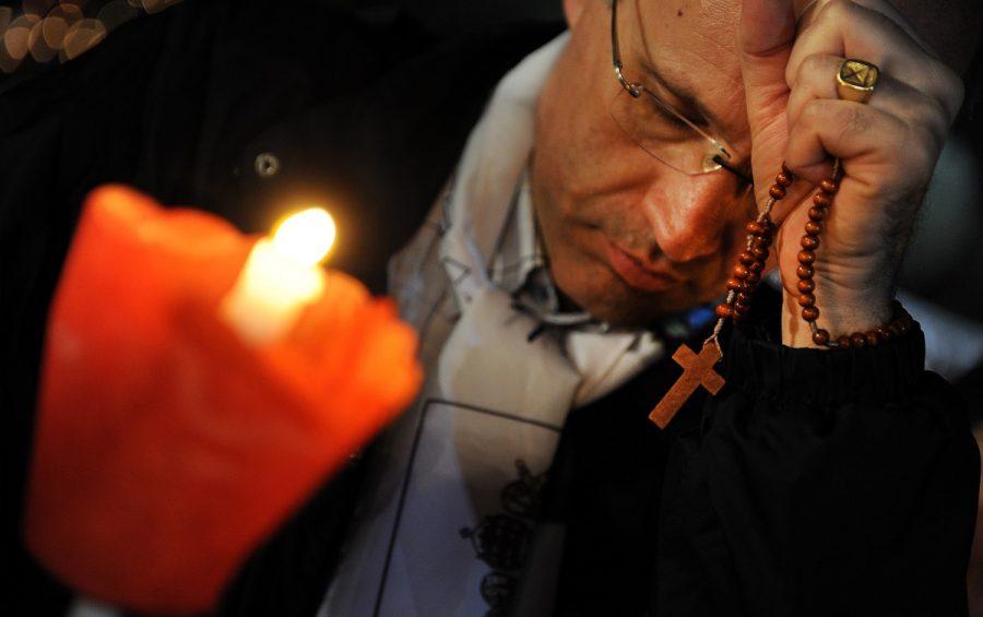 ROMA 30-04-2011 BEATIFICAZIONE DI GIOVANNI PAOLO II VEGLIA DI PREGHIERA AL CIRCO MASSIMO - IL ROSARIO PH : CRISTIAN GENNARI