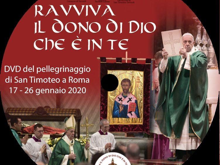 In diretta Facebook la presentazione del fotolibro sul pellegrinaggio del Corpo di San Timoteo a Roma