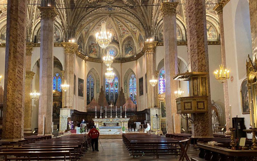 Il 30 maggio, vigilia di Pentecoste, la Messa Crismale in Cattedrale