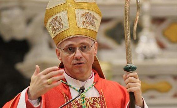 Il 26 maggio mons. Morfino celebra (all'aperto) al Santuario di N.S. di Valverde
