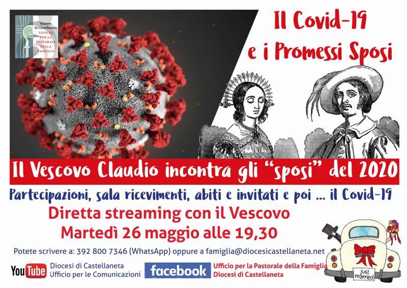 Il Covid-19 e i Promessi Sposi: il 26 maggio mons. Maniago incontra i fidanzati