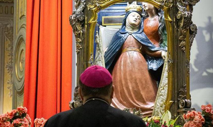 3 maggio, l'omaggio alla Madonna della Salve
