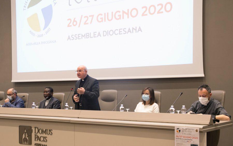 """Mons. Sorrentino chiude l'assemblea diocesana: """"La Chiesa ha bisogno dell'entusiasmo dei primi cristiani"""""""