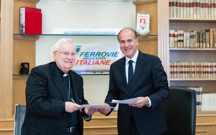 Convenzione Cei e Ferrovie dello Stato per la presenza dei cappellani per l'assistenza pastorale