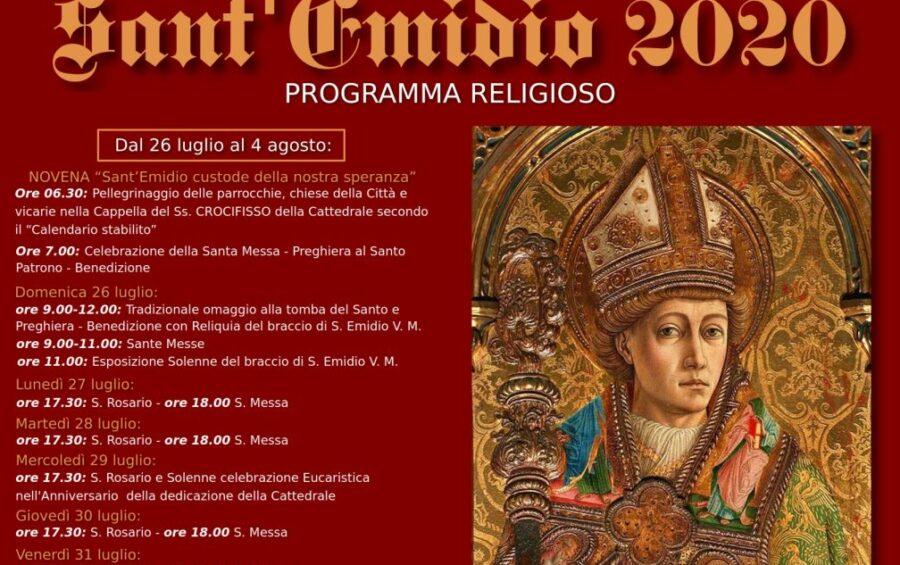 La Festa di sant'Emidio e il Pellegrinaggio della speranza