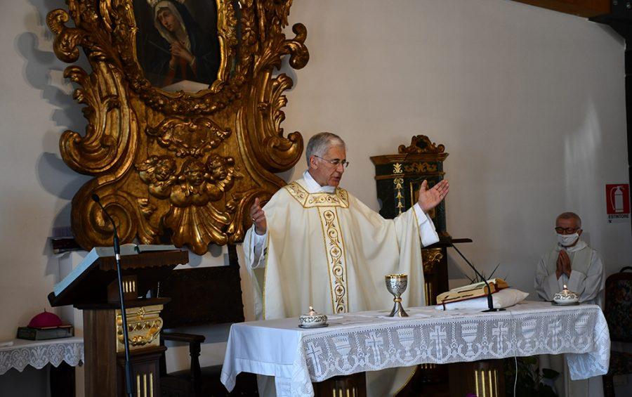 """Norcia festeggia San Benedetto. Mons. Boccardo: """"Non perdiamo la speranza"""""""
