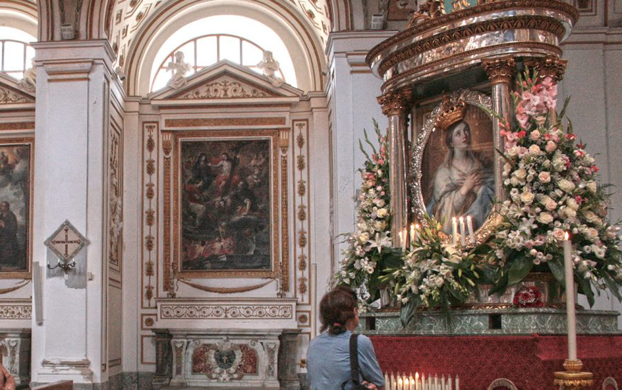 Madonna del Paradiso: niente processione, il quadro in cattedrale